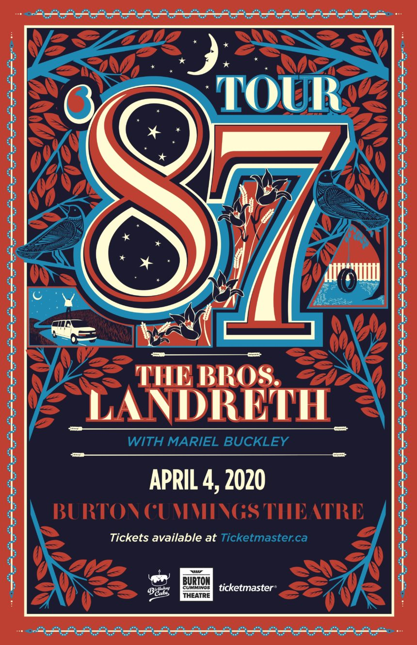 "The Bros. Landreth "" '87 Tour"" with Mariel Buckley"