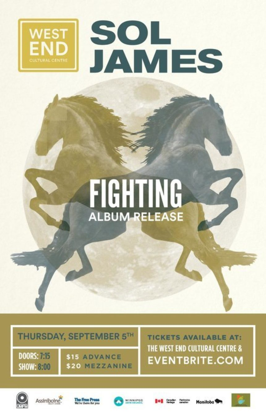 West End Cultural Centre presents Sol James' Fighting EP Release