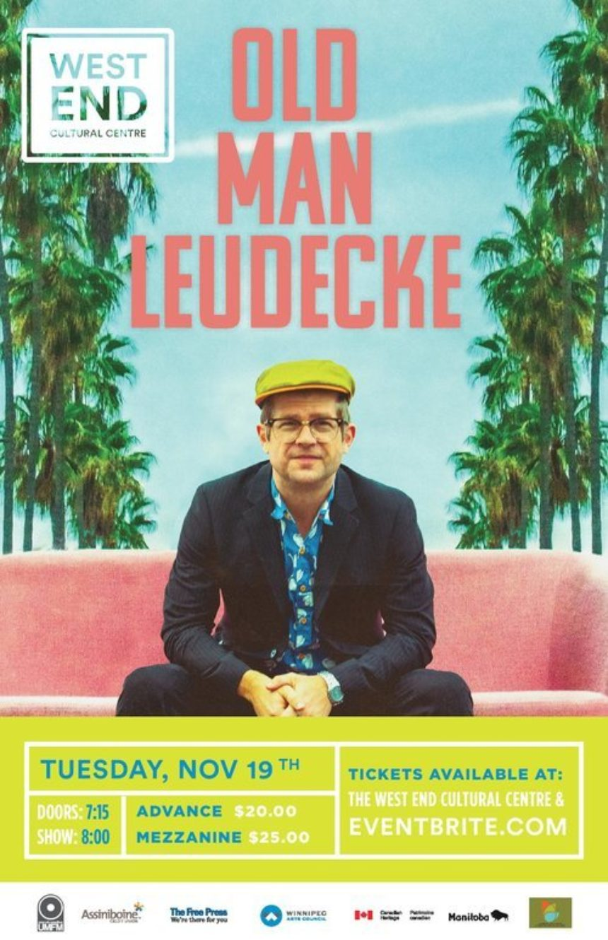 The West End Cultural Centre and UMFM present Old Man Luedecke