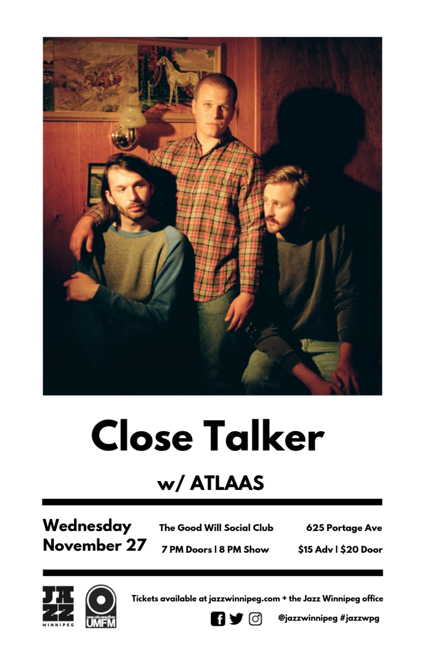 Jazz Winnipeg presents Close Talker