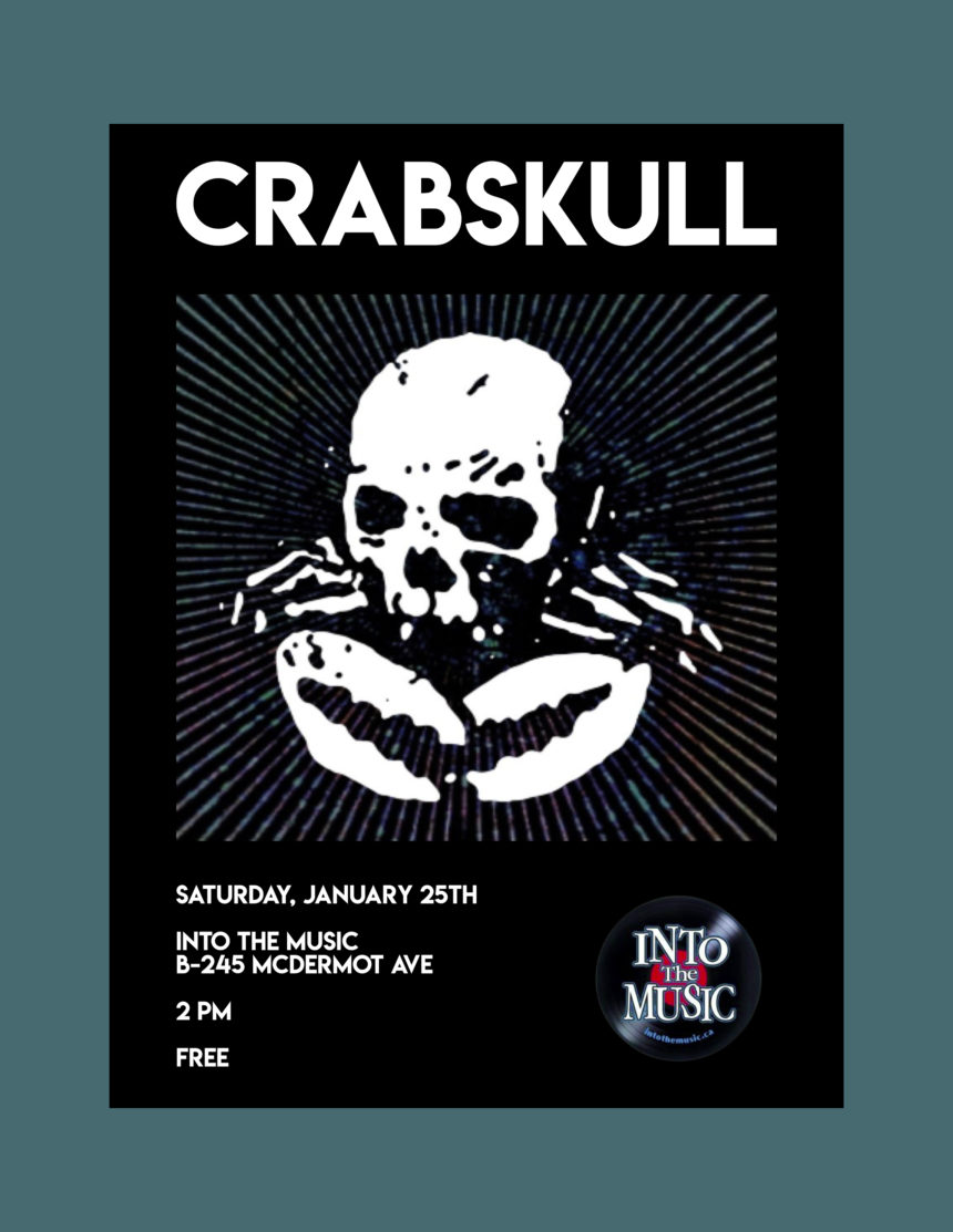 Into the Music presents Crabskull