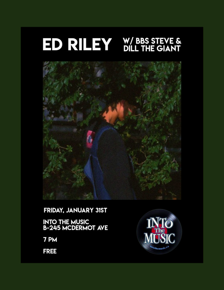 Into the Music presents Ed Riley with BBS Steve and Dill the Giant