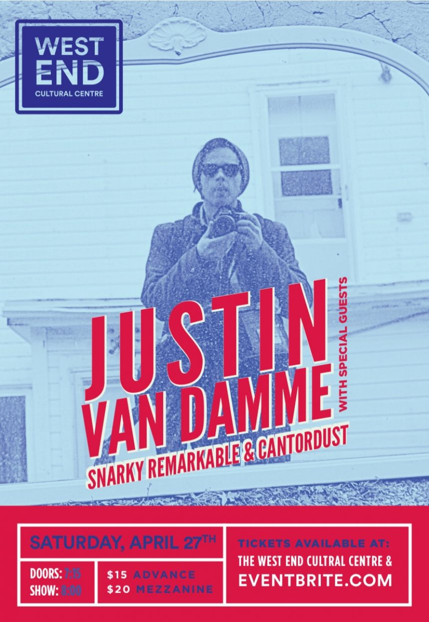 Justin Van Damme with Snarky Remarkable & Cantordust