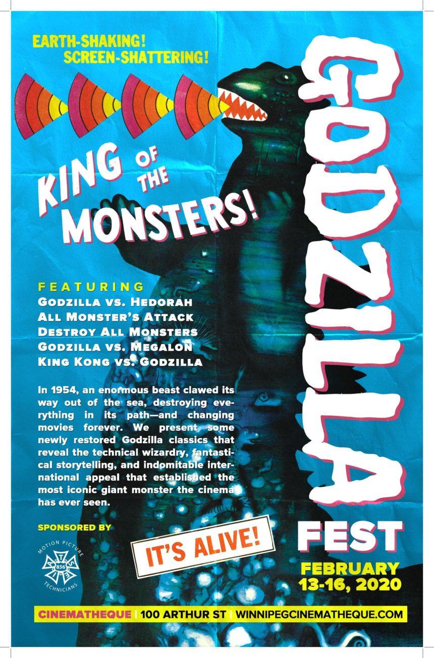 Godzilla Festival at Cinematheque: Godzilla vs. Hedorah (aka Godzilla vs the Smog Monster)
