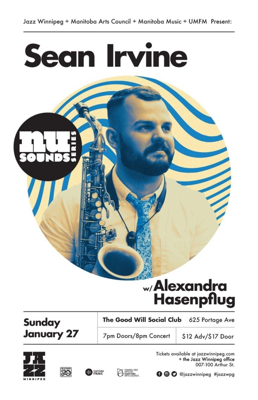 Jazz Winnipeg NU Sounds Series: Woodwind Specialist Sean Irvine & Synesthesia Artist Alexandra Hasenpflug