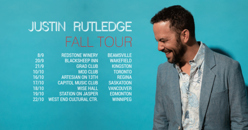 The West End Cultural Centre presents Justin Rutledge with special guest, Charlotte Cornfield