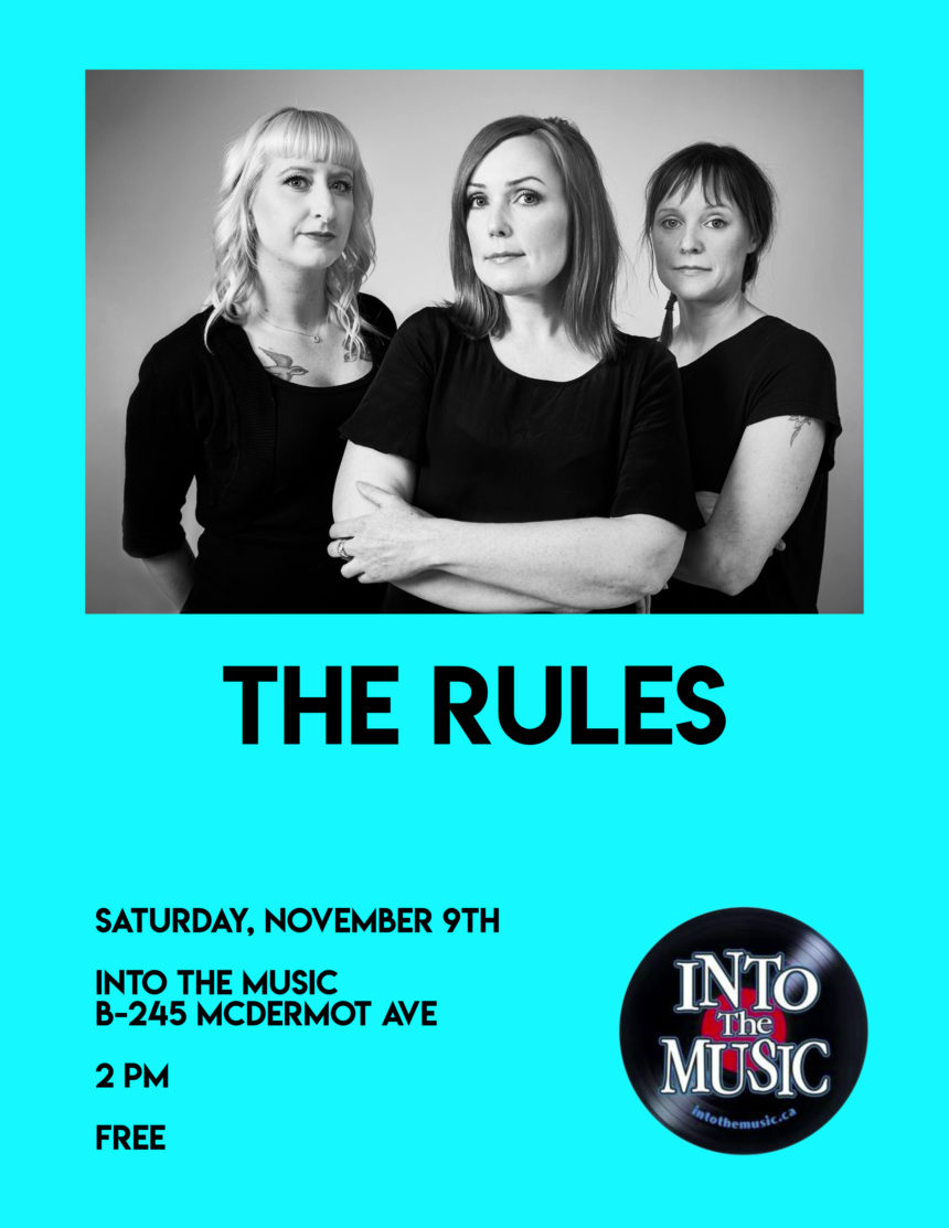 Into the Music presents The Rules