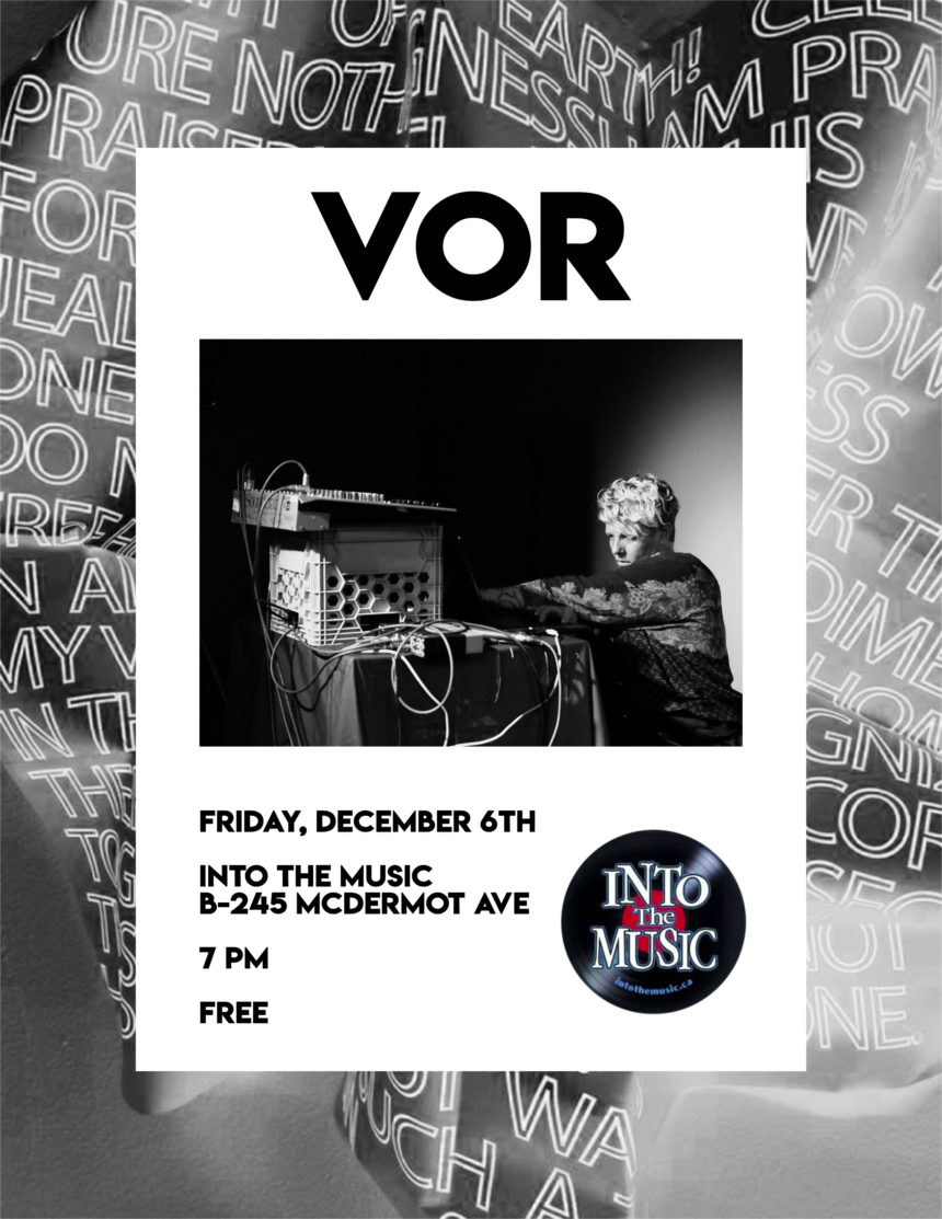 Into the Music presents VOR In-Store