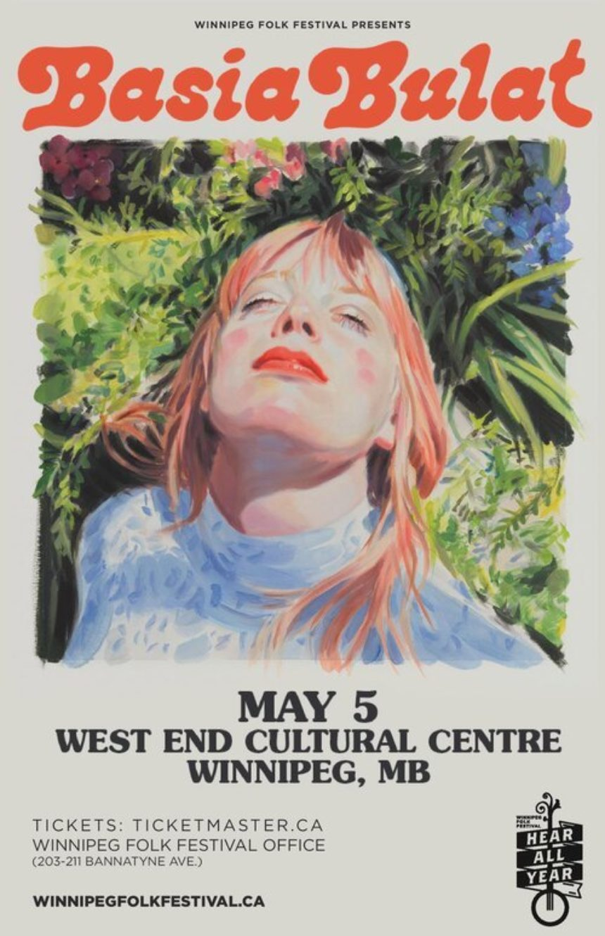 The Winnipeg Folk Festival and West End Cultural Centre present Basia Bulat