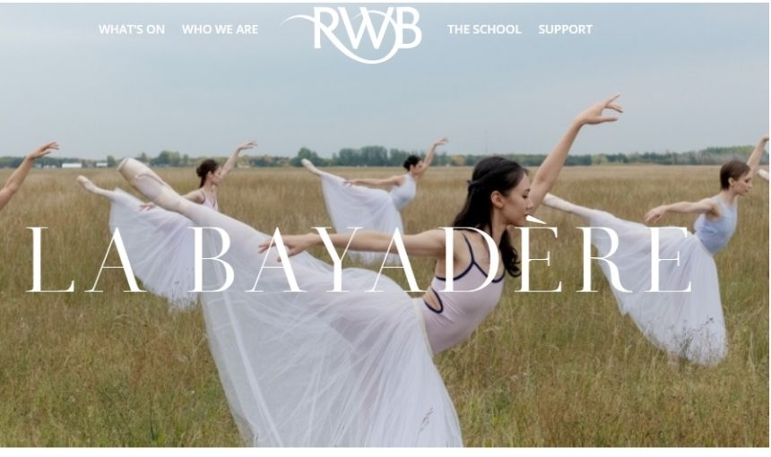 Royal Winnipeg Ballet presents La Bayadere