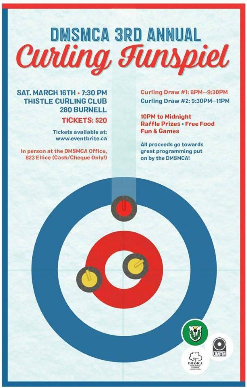 3rd Annual DMSMCA Curling Funspiel