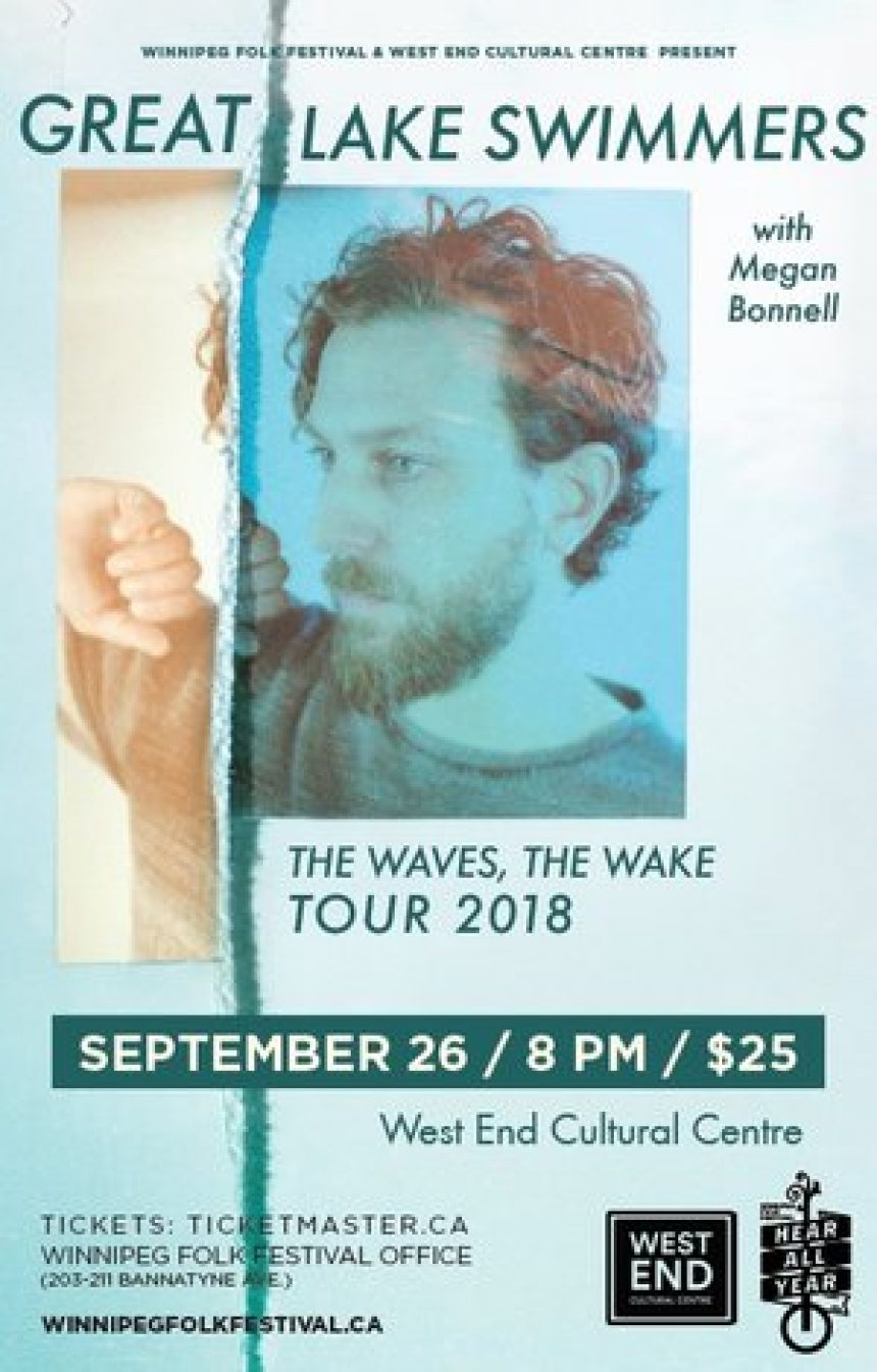 Winnipeg Folk Festival presents Great Lake Swimmers with Megan Bonnell