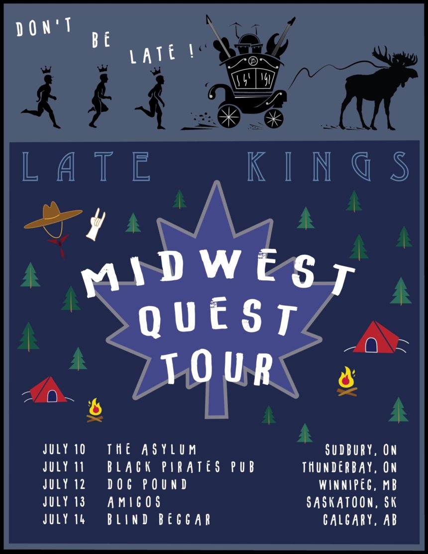 Late Kings' Midwest Quest Tour