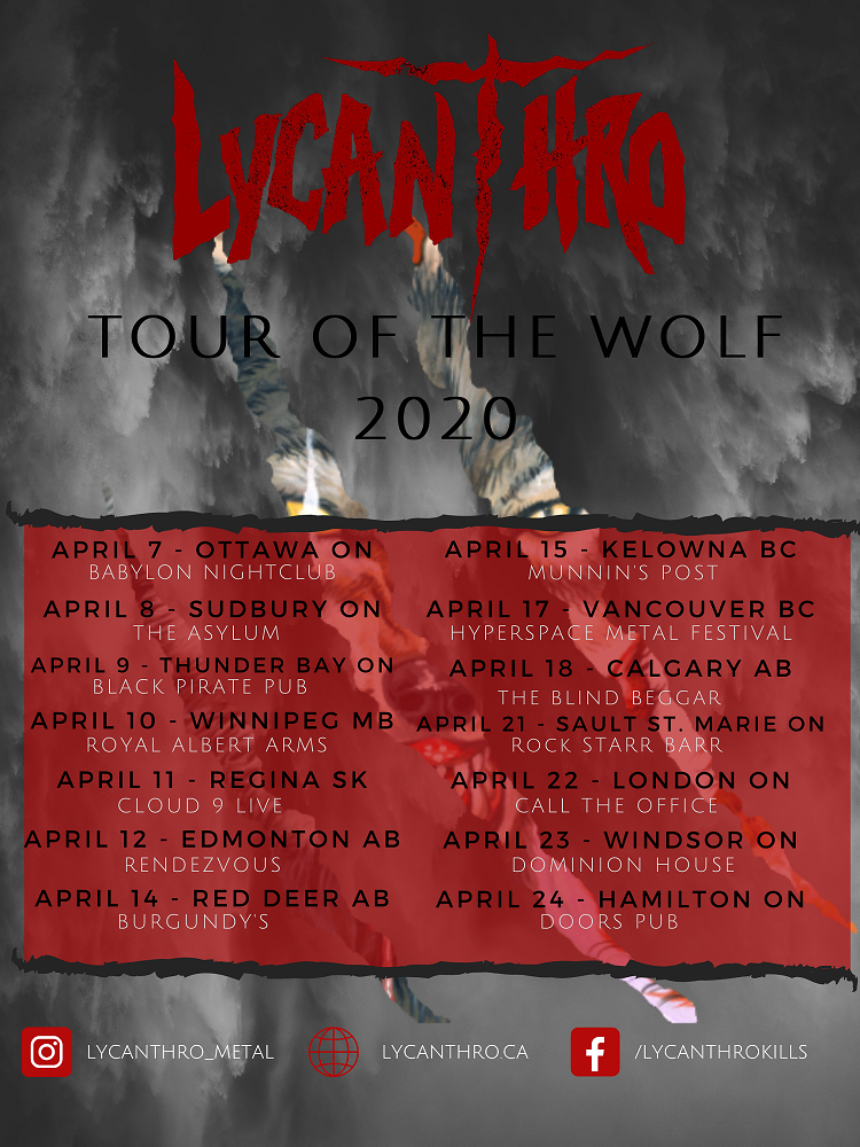 Lycanthro - Tour of the Wolf 2020