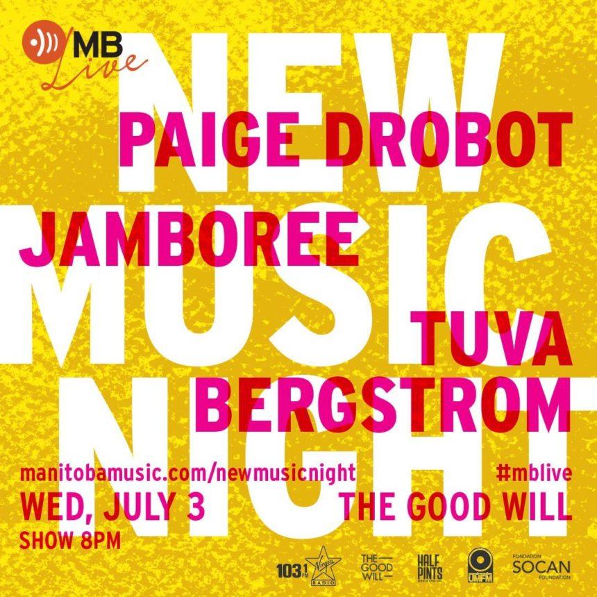 UMFM and Manitoba Music present New Music Night