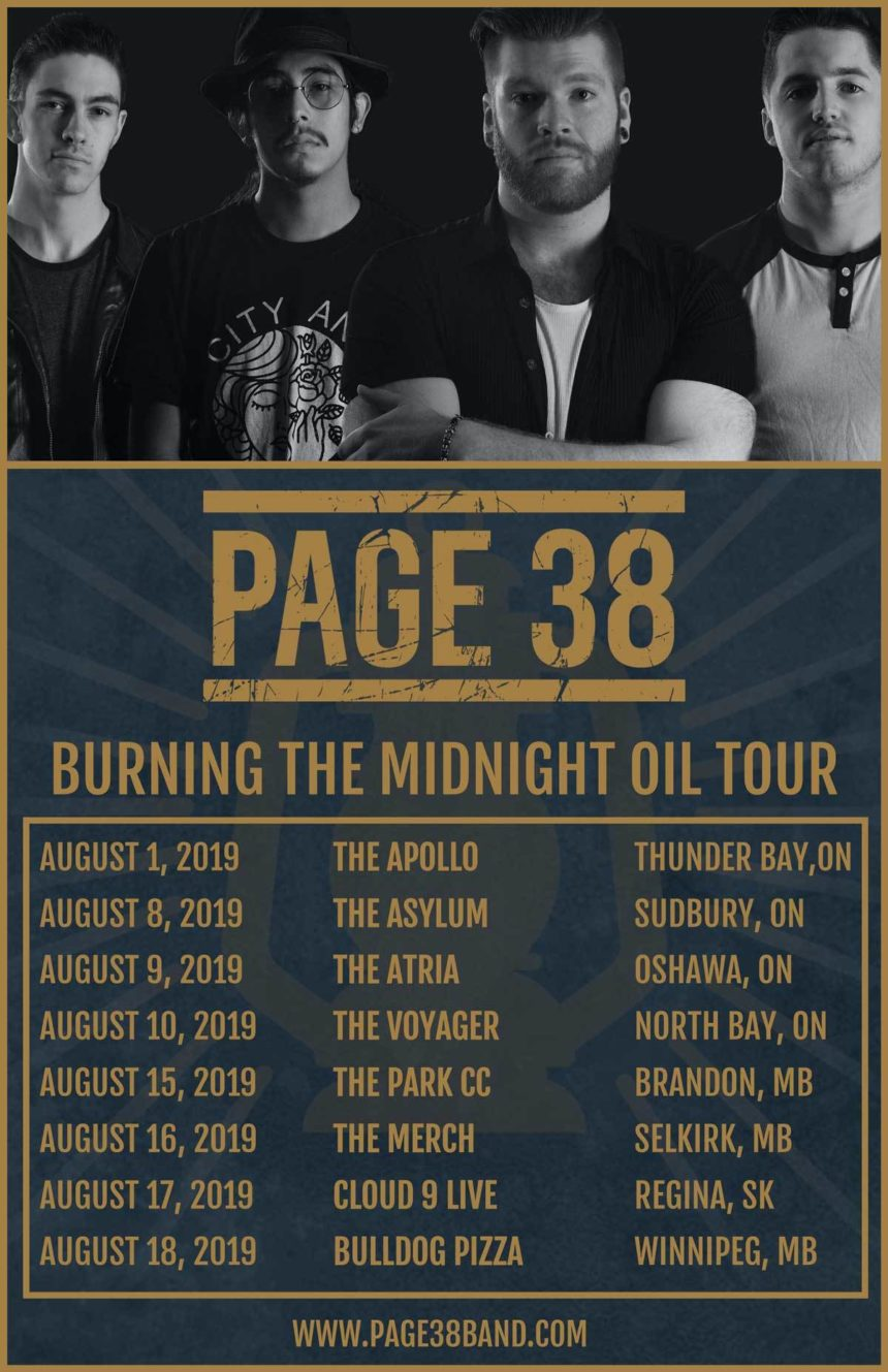 Badlands Promotions Presents: Page 38 w/November Underground, Ash & The Arsonists, & The Stowa