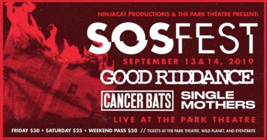 Ninjacat Productions & The Park Theatre present SOS Fest - Night 2